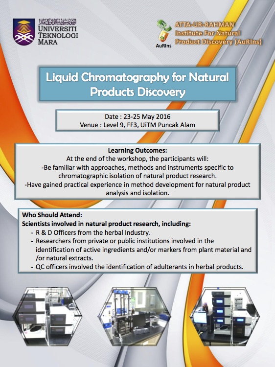 Liquid Chromatography for Natural Products Discovery