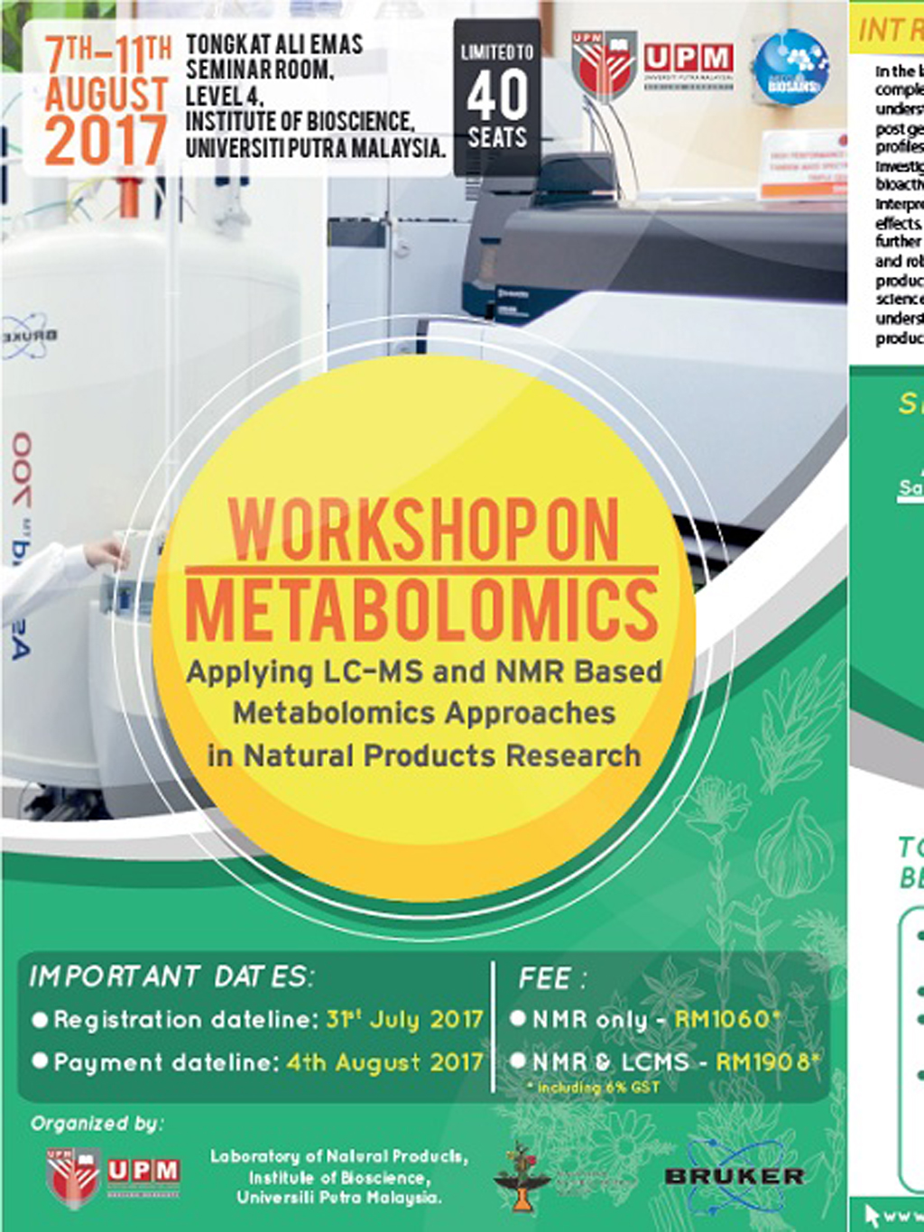 Workshop on Metabolomics