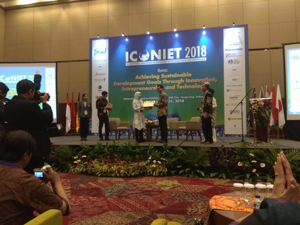Dr Intan Invited Speaker ICONIET 2018